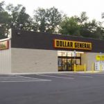 Front view of new store