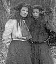 Two young ladies.