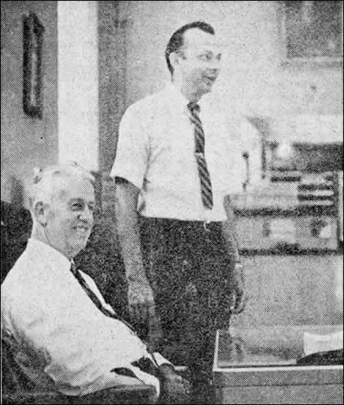 Paul Bridges , left, and Bill Jenkins