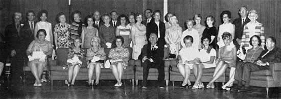 Mr. Beatty's teachers and family.
