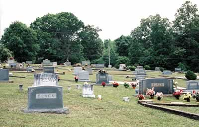 The cemetery today