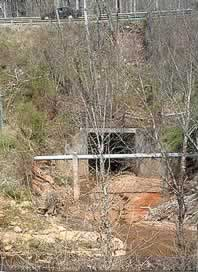 End of the Riddles Creek culvert