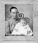 Florence Cooper Bailey and infant Yates