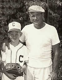 G.C. Fisher and Little LeaguerCourtesy Mike Fisher