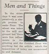 Men and Things column