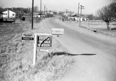 The Harris' mailbox at Fairview
