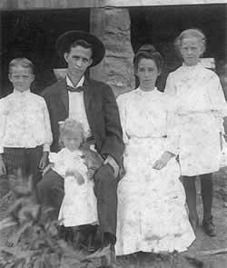 Parents and three children