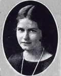 Mabel's high school photo. 1924
