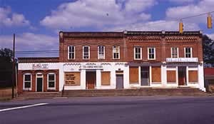 In later years the old building  was revamped for various businesses, with store fronts painted or changed, but none were successful for very long.