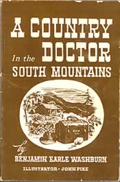 """Cover of book """"A Country Doctor in the South Mountains."""""""