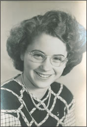 A school photo of Jo Ann Cole