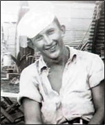 Grover Haynes, Jr., sailor in the Pacific in WWII