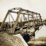 Trestle under construction