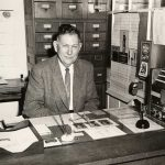 Mr. Beatty at his desk