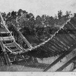 Sagging railbed