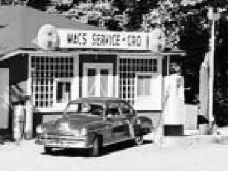 An old service station and grocery