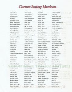 Last page of program