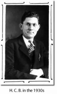 H. C. Beatty in the 1930s
