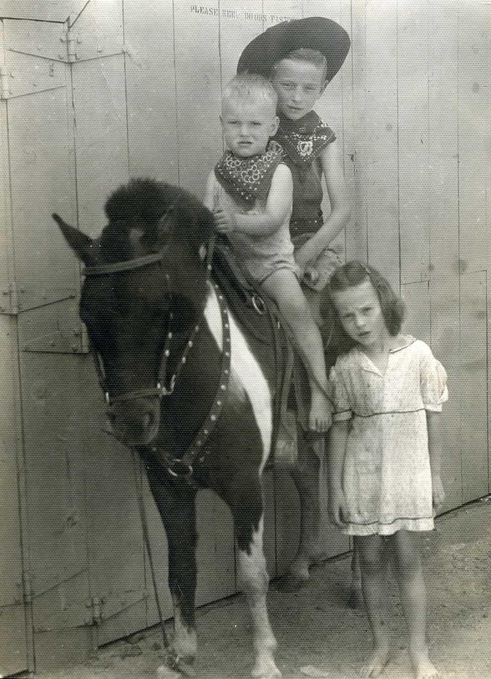Gene, Billy and Patsy Ingram