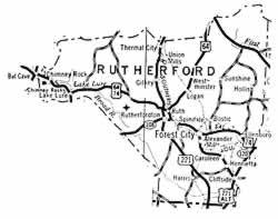 Map of county