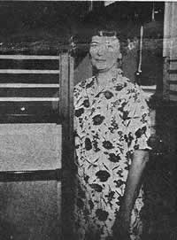 Jane Hamrick shortly after robbery.