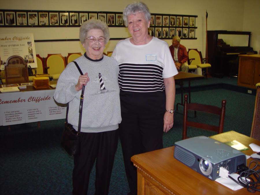 Marie Waters Johnson, Carolyn Waters