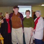 Elise Brown Burnett, Richard Brown, Nancy Wallace, Peg Brown