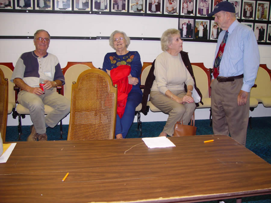 Don Bailey, Jane Robinson Hamrick, Beth Hawkins Biggerstaff, Hollis Owens, Jr.