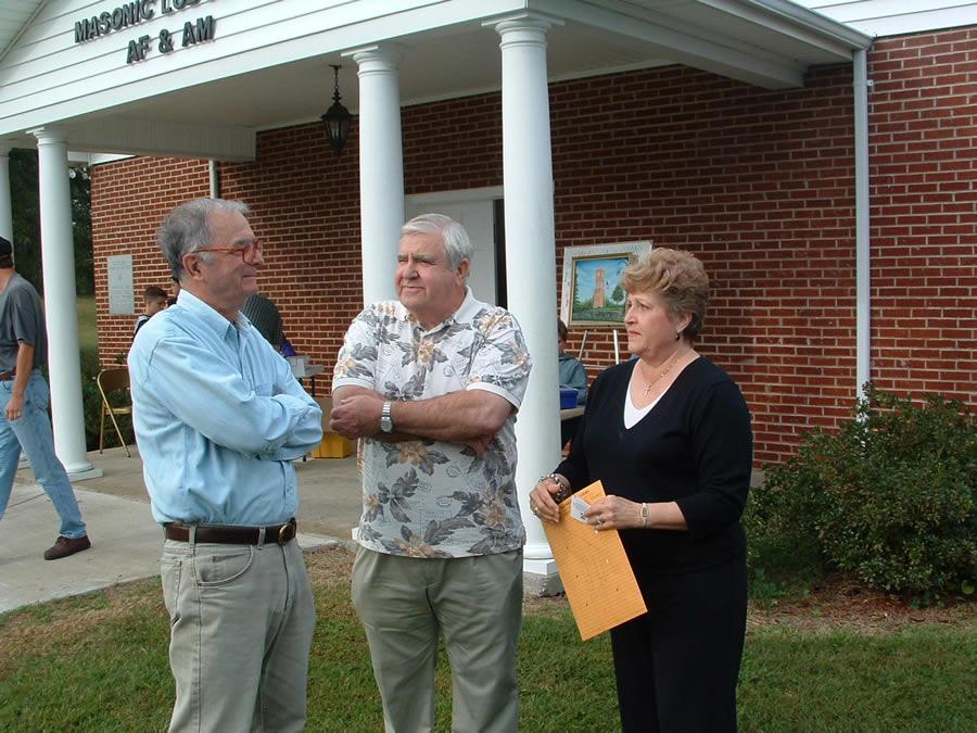 Don Bailey, Dean & Becky Scruggs