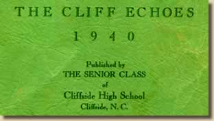 Cover text of The Cliff Echoes 1940