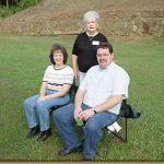 Kim Brooks Harris, Mary Huskey Brooks, Keith Harris