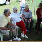 James Whitaker, Loree Harrill Steele, Rev. Ben Steele