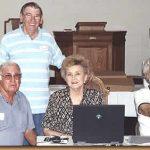 Wafford Pennington, Jack Pennington, Ginny Anne Green Reid, Joan Humphries Harris