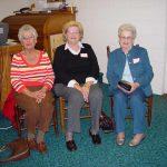 Mildred Fisher, Madge Hamrick, Marie Johnson