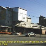 Yelton Milling Company located on the west end of Spindale, NC. 12/2/99