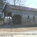 The old Gross Cotton Gin located behind Jim Coles store on Hopper Road. 12/29/99