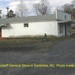 The Foy Biggerstaff General Store in Sunshine, NC. 12/3/99