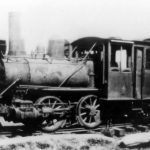 A small engine from the NYC train system