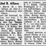 Allison, Ethel Bailey, Mar. 17, 1954