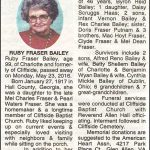 Bailey, Ruby Fraser, May 23, 201