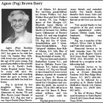 "Berry, Agnes 'Peg"" Brown, May 18, 2014"