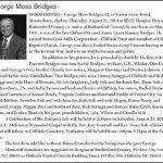 Bridges, George Moss, Aug. 21, 2014