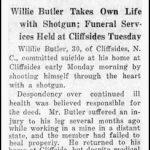 Butler, Willie, Jan. 26, 1925