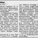 Callahan, Pearl Ledford, Apr. 7, 2005
