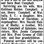 Campbell, Clarence (Spur), Aug. 29, 1966