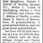 Crocker, Sudie Hamrick, Mar. 21, 2002