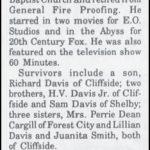 Davis, Brown Lee, May 9, 1991