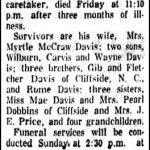 Davis, Carvis Goin, Dec. 11, 1959