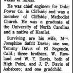 Davis, Edgar Lee, Jan. 22, 1963