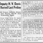Davis, Henry Virgil, June 27, 1951